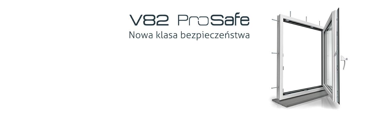Bezpieczeństwo w niespokojnych czasach? Nowa linia okien V82 ProSafe! Unikalne i wyjątkowe połączenie właściwości użytkowych odpowiedzialnych za bezpieczeństwo oraz oszczędność energii w całej linii produktów począwszy od okien jednoskrzydłowych na drzwiach balkonowych HST kończąc. Gdynia Tczew