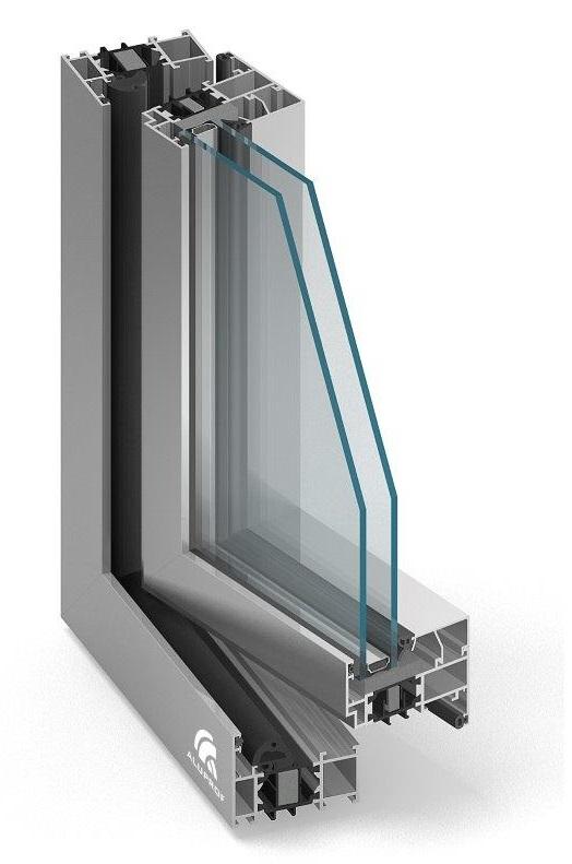 Okno aluminiowe Aluprof MB70
