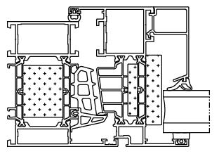 Okno aluminiowe Aluprof MB86 Aero
