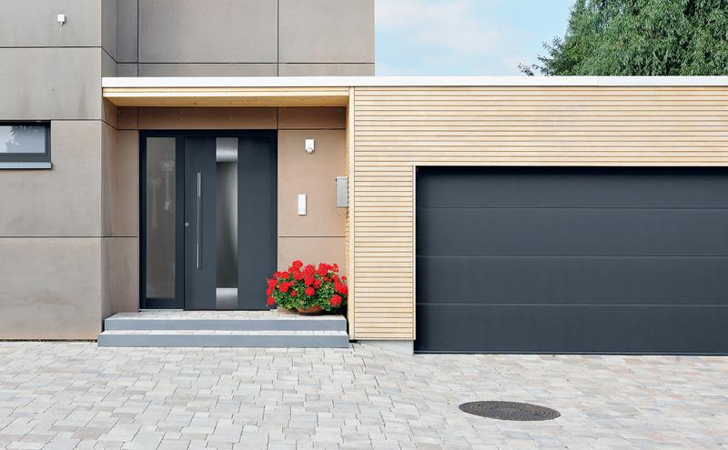 Aluminiowe drzwi zewnętrzne Hörmann ThermoSafe