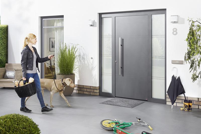 Stalowe drzwi zewnętrzne Hörmann ThermoPlus