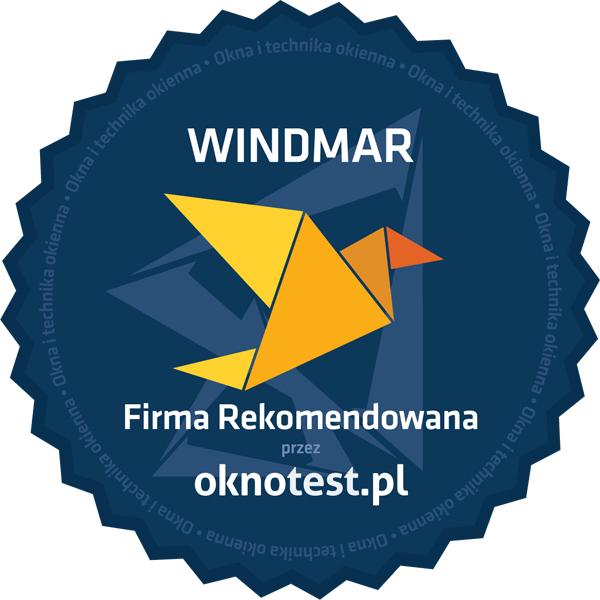Windmar - Firma Rekomendowana przez Oknotest.pl