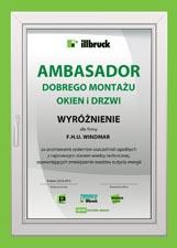 Ambasador Dobrego Montażu Okien - TREMCO Illbruck