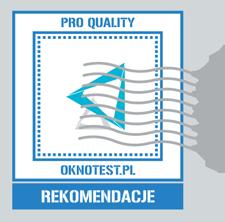 Program Rekomendacji Technicznych Pro Quality OKNOTEST.PL