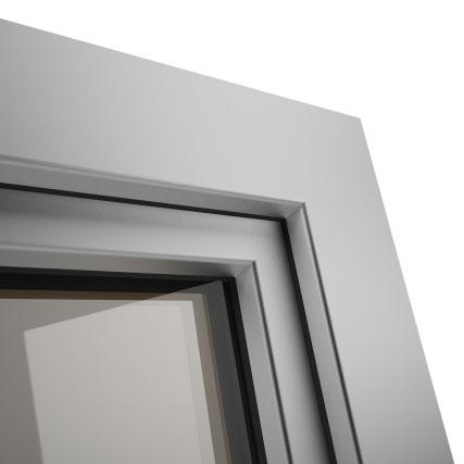 Okno POZBUD GEMINI nakładka aluminiowa Classic