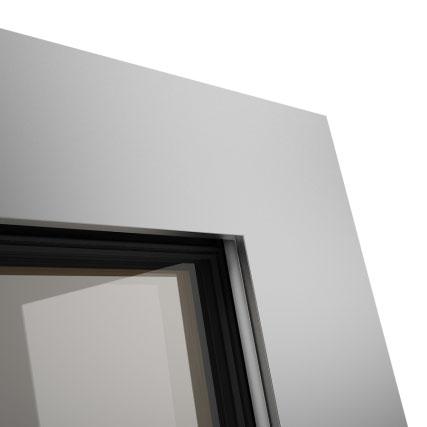 Okno POZBUD GEMINI nakładka aluminiowa Integral