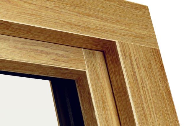 Okno POZBUD THERMO 78 - strona zewnętrzna Standard