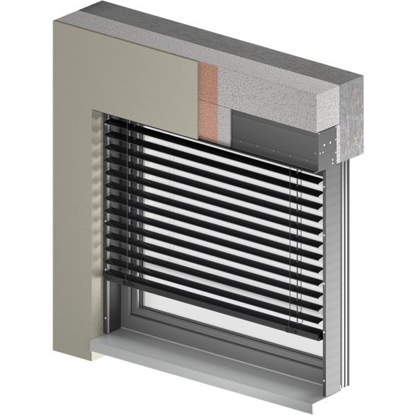 Żaluzje fasadowe C 80 BOX