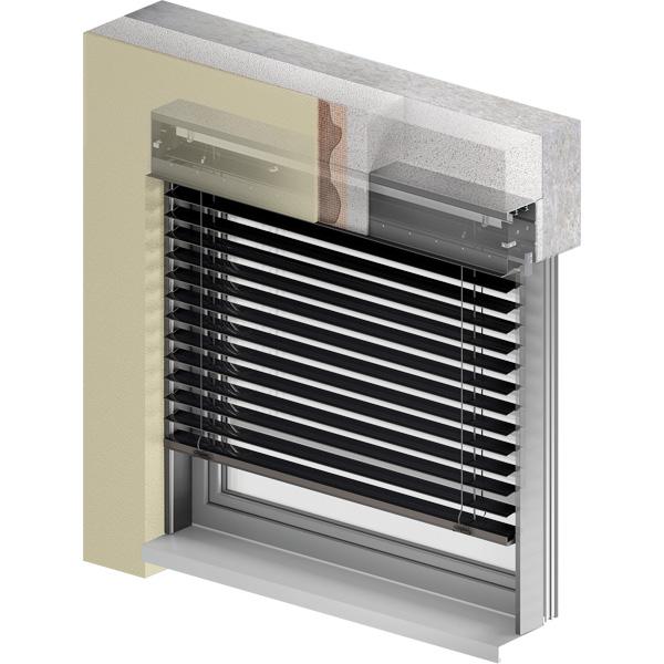 Żaluzje fasadowe Z 90 BOX